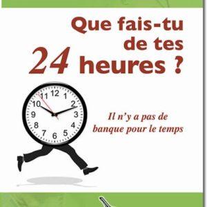 QUE FAIS-TU DE TES 24H - Maurice Koué