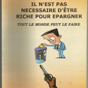 Il n'est pas nécessaire d'être riche pour épargner - Maurice D. Koué